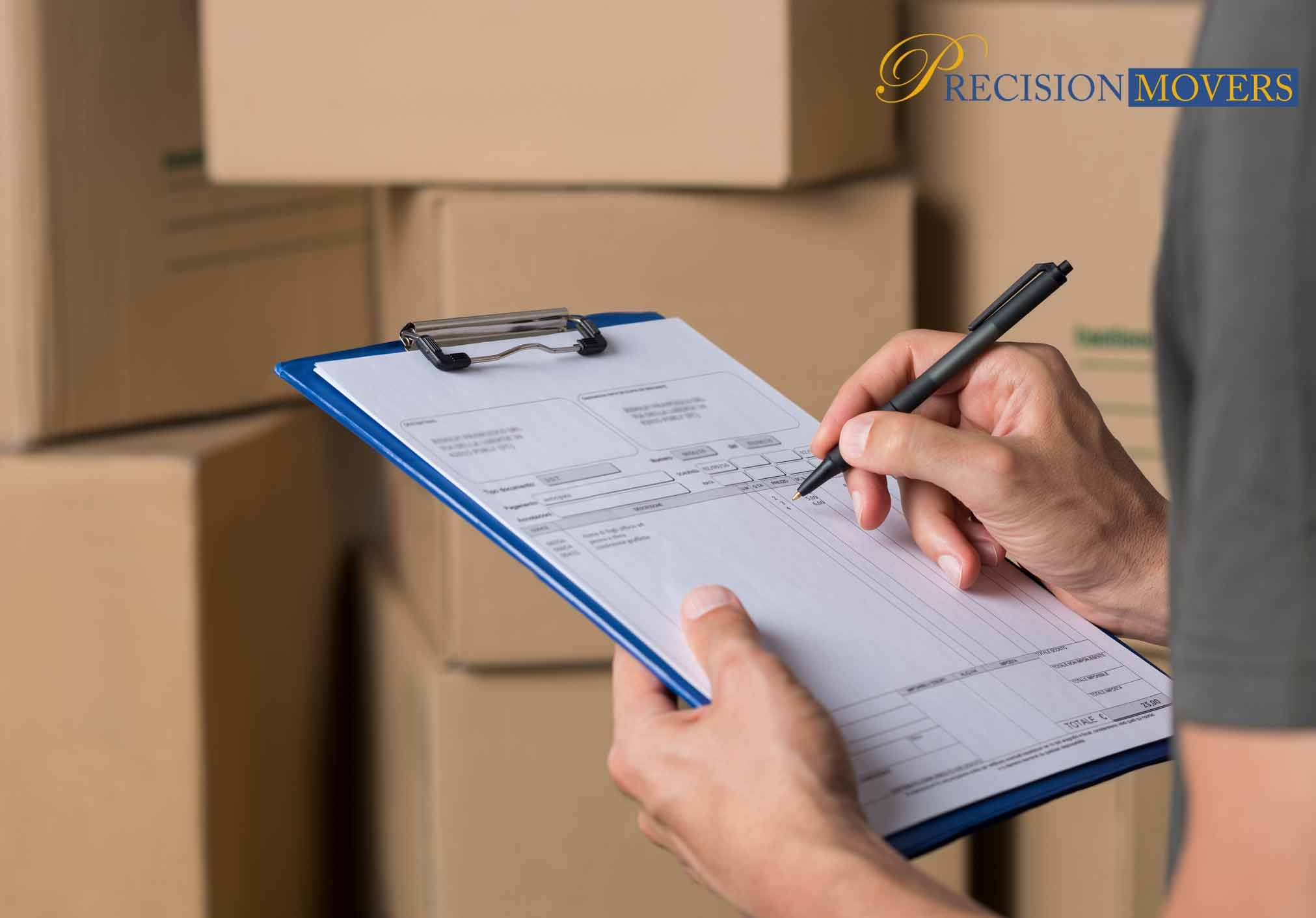 Precision Movers Ltd Moving 3 Tips Accurate Moving Quote