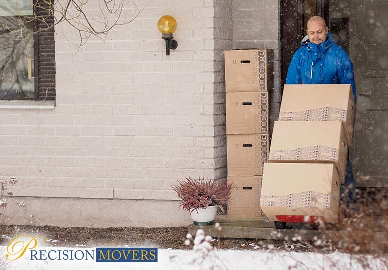 Precision Movers Moving During the Winter Call a Professional