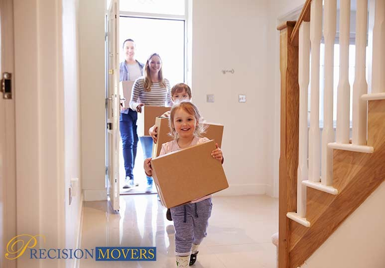 Precision Movers Ltd Moving 4 Tips When Moving With Children