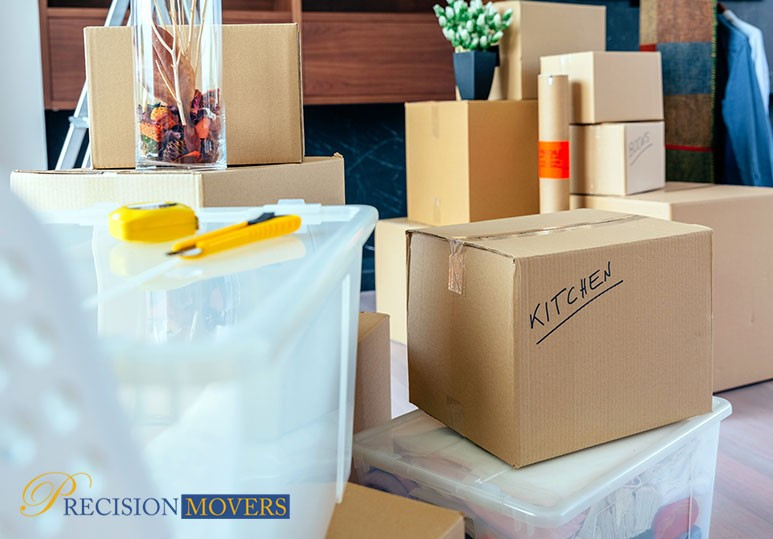 Precision Movers Calgary 4 Simple and Easy Packing Tips For a Home Relocation